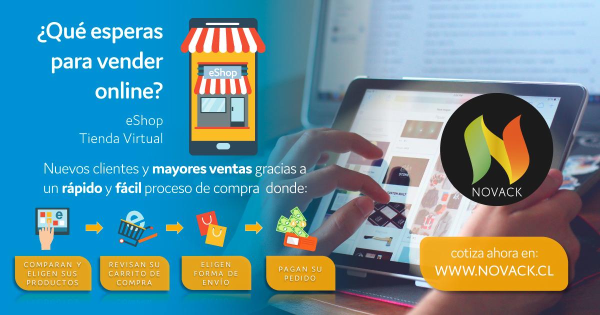 Novack eShop ads Tienda Virtual